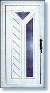 drzwi do domu białe